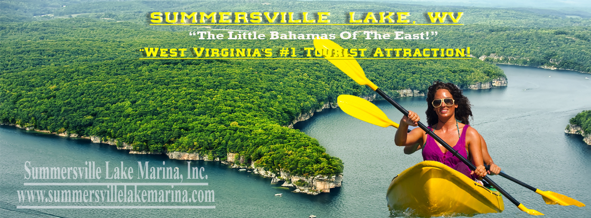 Kayaking On Summersville Lake